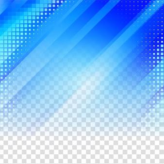 Fond transparent géométrique bleu