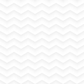 Fond transparent géométrique en zig zag blanc