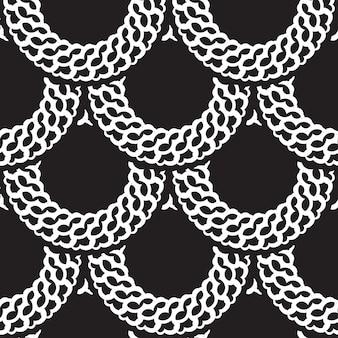 Fond transparent motif abstrait géométrique vintage. illustration vectorielle
