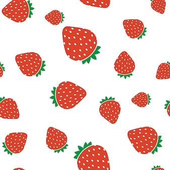Fond transparent simple fraise douce