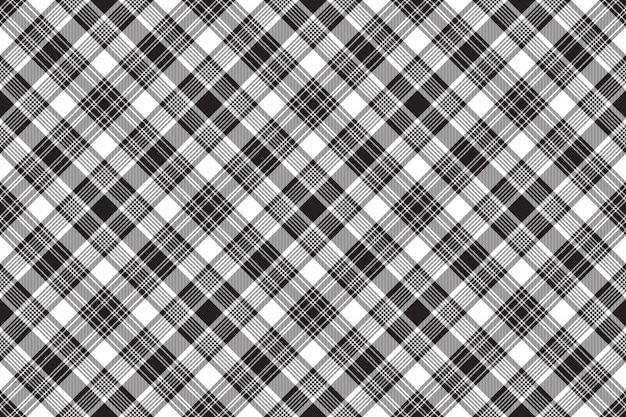 Fond transparent en tissu à carreaux diagonaux noirs