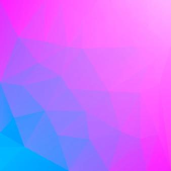 Fond de triangle carré abstrait dégradé. toile de fond polygonale multicolore arc-en-ciel vibrant pour application mobile et web. bannière abstraite géométrique à la mode. conception de flyers corporatifs. style mosaïque.