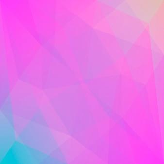 Fond de triangle carré abstrait dégradé. toile de fond polygonale multicolore vibrante d'arc-en-ciel pour la présentation d'affaires. bannière abstraite géométrique à la mode. conception de flyers corporatifs. style mosaïque.