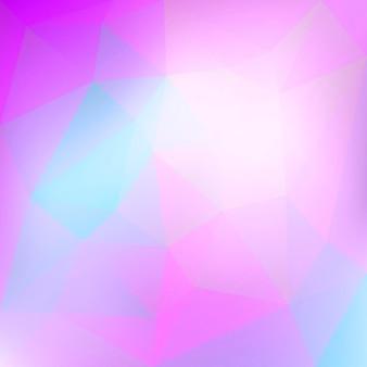 Fond de triangle carré abstrait dégradé.