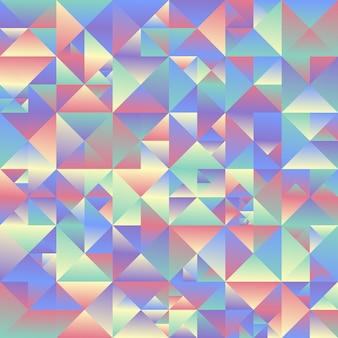 Fond de triangle géométrique - résumé polygonale