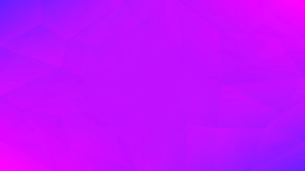 Fond de triangle horizontal abstrait dégradé. tendre toile de fond polygonale rose et bleu pour application mobile et web. bannière abstraite géométrique à la mode. dépliant de concept technologique. style mosaïque.