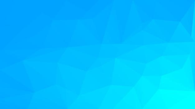 Fond de triangle horizontal abstrait dégradé. toile de fond polygonale couleur glace fraîche pour la présentation d'entreprise. bannière abstraite géométrique à la mode. dépliant de concept technologique. style mosaïque.