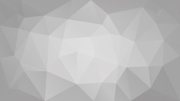 Fond de triangle horizontal abstrait dégradé. toile de fond polygonale de couleur grise pour la présentation de l'entreprise. bannière abstraite géométrique à la mode. conception de flyers corporatifs. style mosaïque.