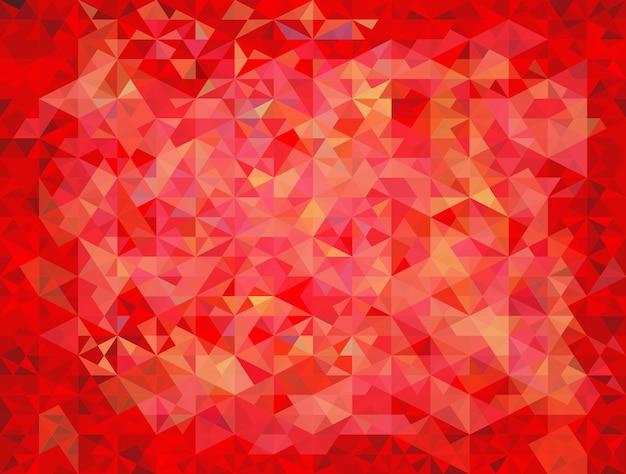 Fond de triangles abstrait vecteur coloré