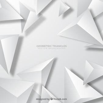 Fond de triangles géométriques