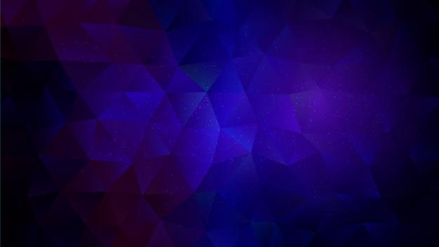 Fond de triangles low poly