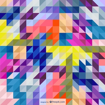Fond triangles de style abstrait