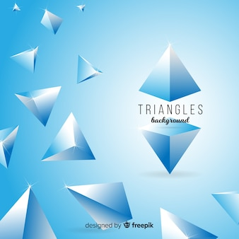 Fond de triangles