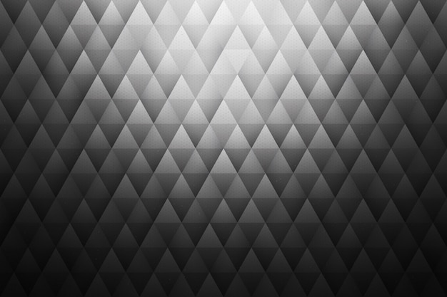 Fond triangulaire géométrique abstrait gris
