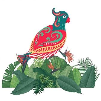 Fond tropical animal