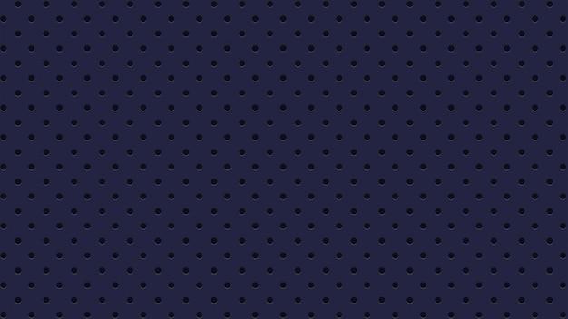 Fond de trous bleus