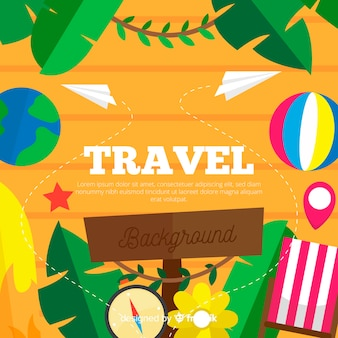 Fond de trucs de vacances colorées
