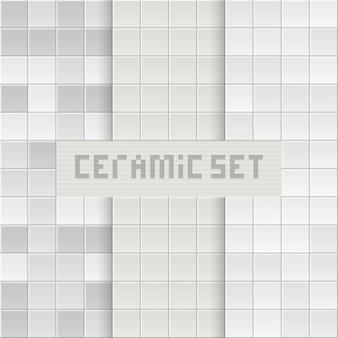 Fond de tuile. texture de brique. carreaux carrés.