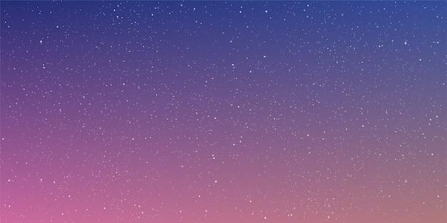 Fond de l'univers astrologie étoile horizontale