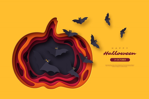 Fond de vacances d'halloween. fond de vacances d'halloween.