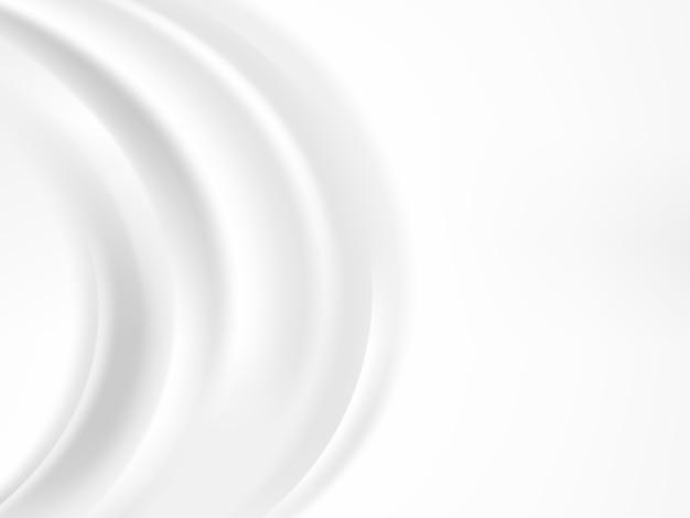 Fond de vague abstrait blanc et gris