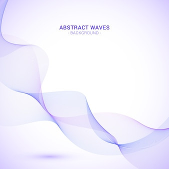 Fond de vague abstrait violet
