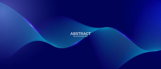 Fond de vague abstraite moderne
