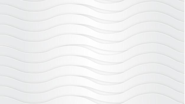 Fond de vague blanc pur