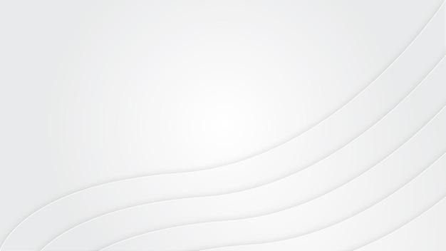 Fond de vague blanche avec un espace vide