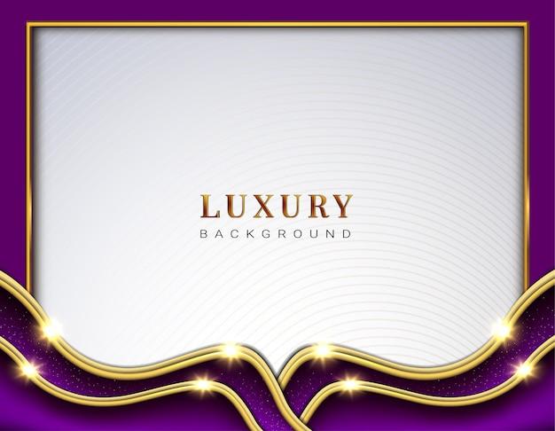Fond de vague de luxe mempis