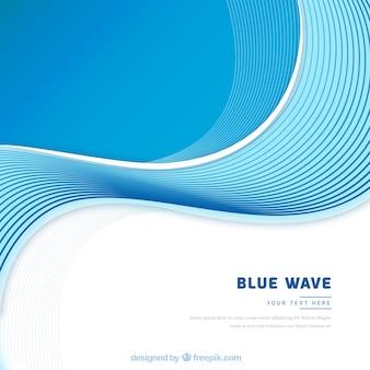 Fond de vague