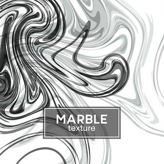 Fond avec des vagues peintes en gris. texture marbre