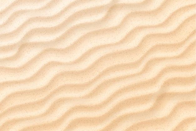 Fond de vagues de sable de plage côtière