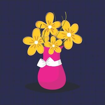 Fond de vase de fleur