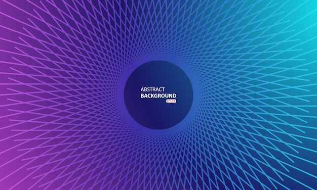 Fond de vecteur abstrait cercle tourbillon