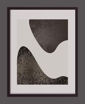 Fond de vecteur abstrait. modèle de bannière, conception d'affiches.