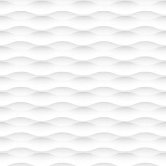 Fond de vecteur blanc des vagues abstraites