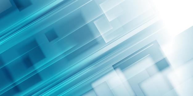 Fond de vecteur bleu abstrait