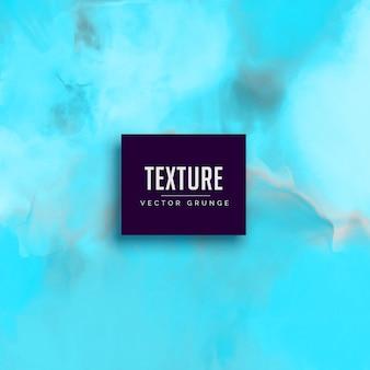 Fond de vecteur bleu aquarelle texture