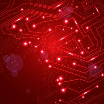 Fond de vecteur de circuit imprimé