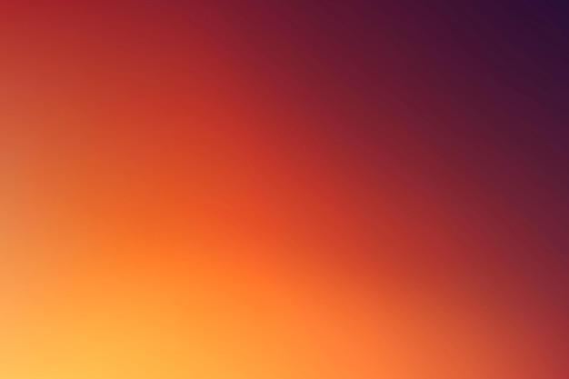 Fond de vecteur dégradé orange et rouge