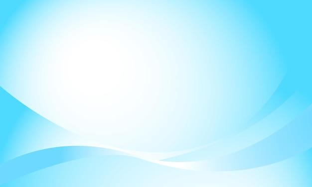 Fond de vecteur de dégradés bleu-blanc et un tas de ballons à l'hélium