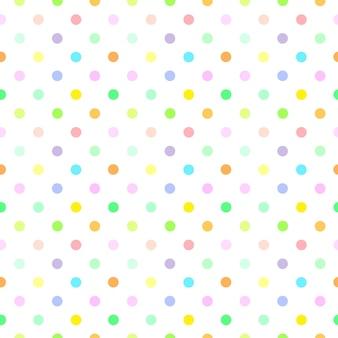 Fond de vecteur de demi-teintes avec des points dans de belles couleurs