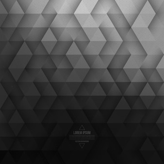 Fond de vecteur géométrique tech gris abstrait