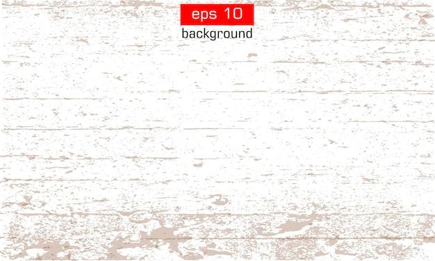 Fond. vecteur de grunge. effet de texture. effet de grain de bois sur fond blanc