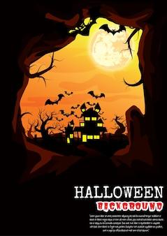 Fond de vecteur de halloween