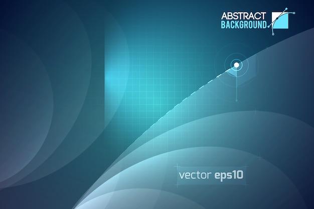 Fond de vecteur de lumière abstraite
