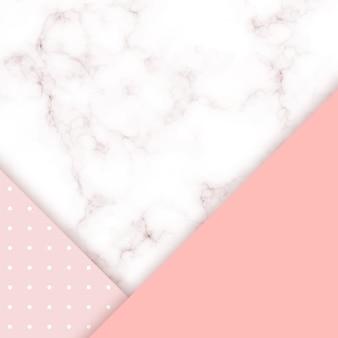 Fond de vecteur de marbre rose.