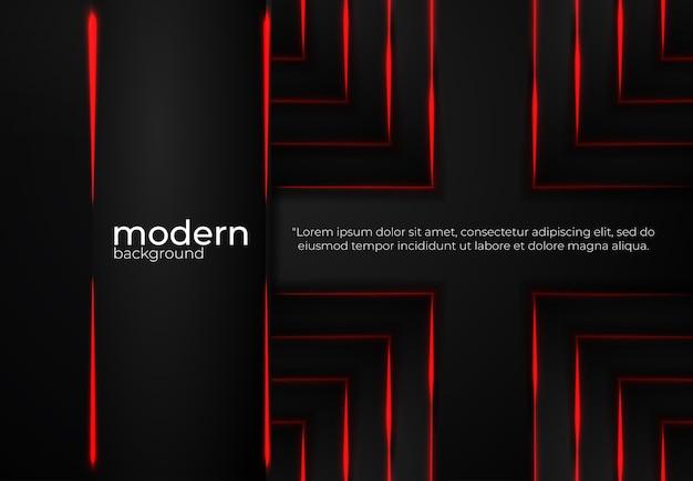 Fond de vecteur noir moderne