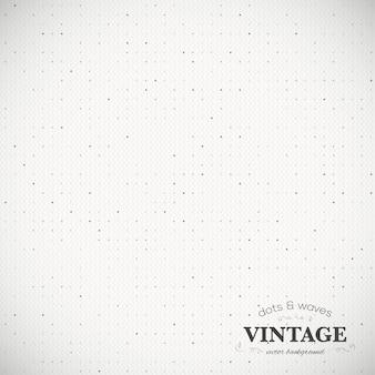 Fond de vecteur en pointillé vintage